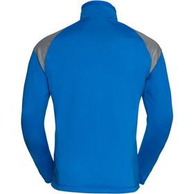 VAUDE Bormio Half Zip Hybrid Pullover Herr hydro blue